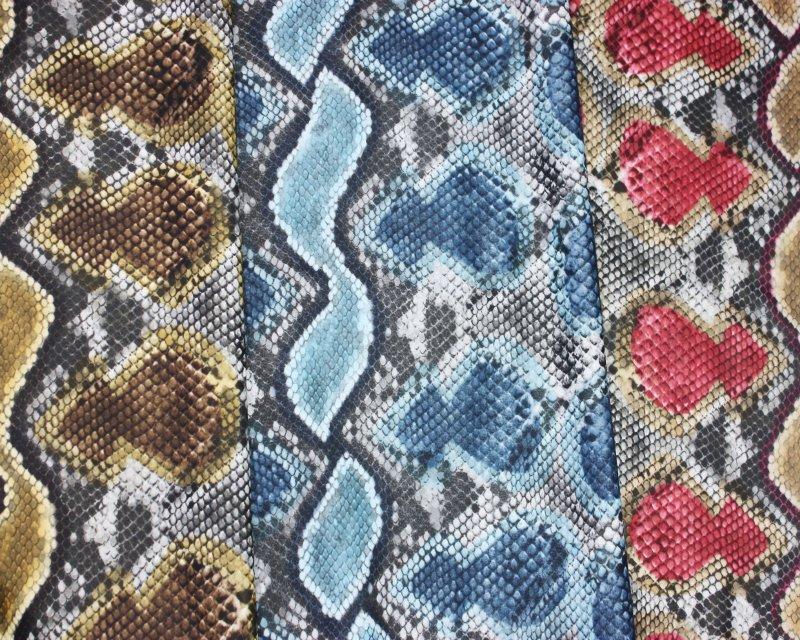 Snake Matte Leatherette