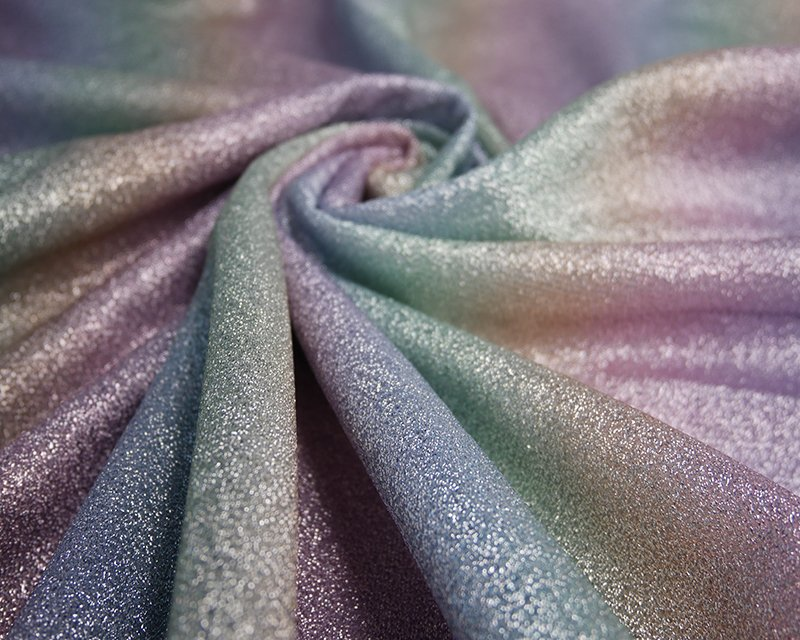 Rainbow Lurex Knit