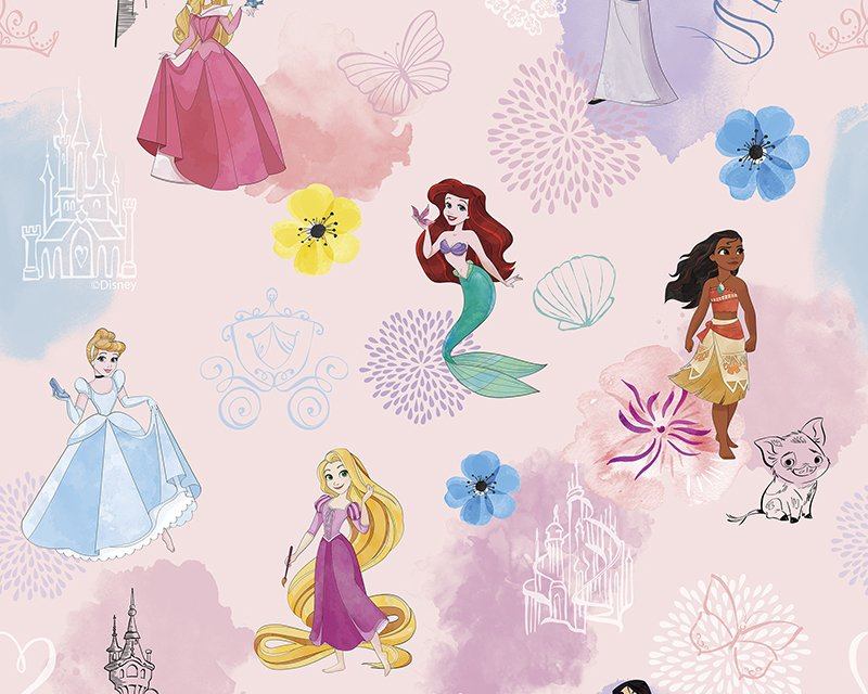 Little Johnny - Disney Pink Princess Mermaid