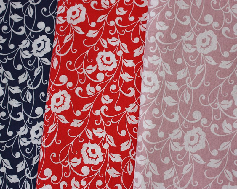 Sally Polycotton Regal Flowers