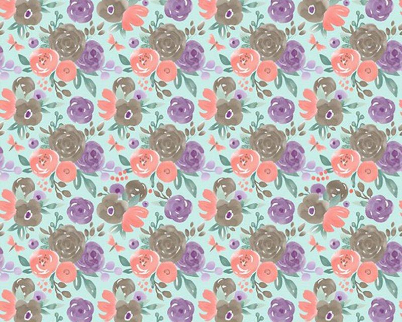 Field of Flowers Cotton Jersey