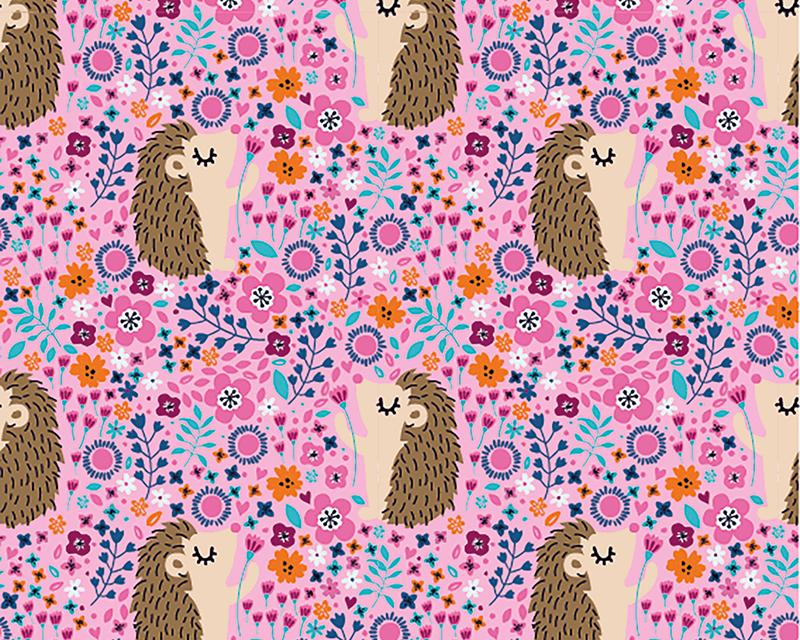 Hedgehog Cotton Jersey