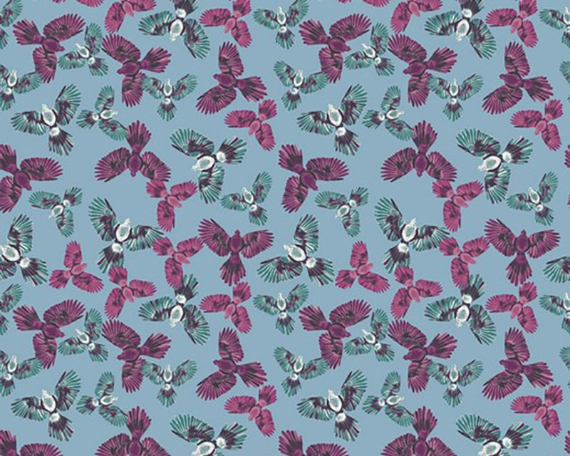 Parrot Dream Cotton Jersey