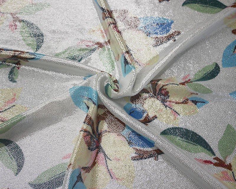 Vanilla Flower Foil Jersey