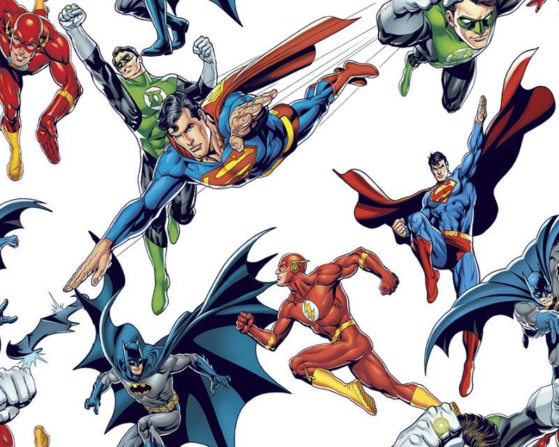 Little Johnny - Justice League Hero Cotton