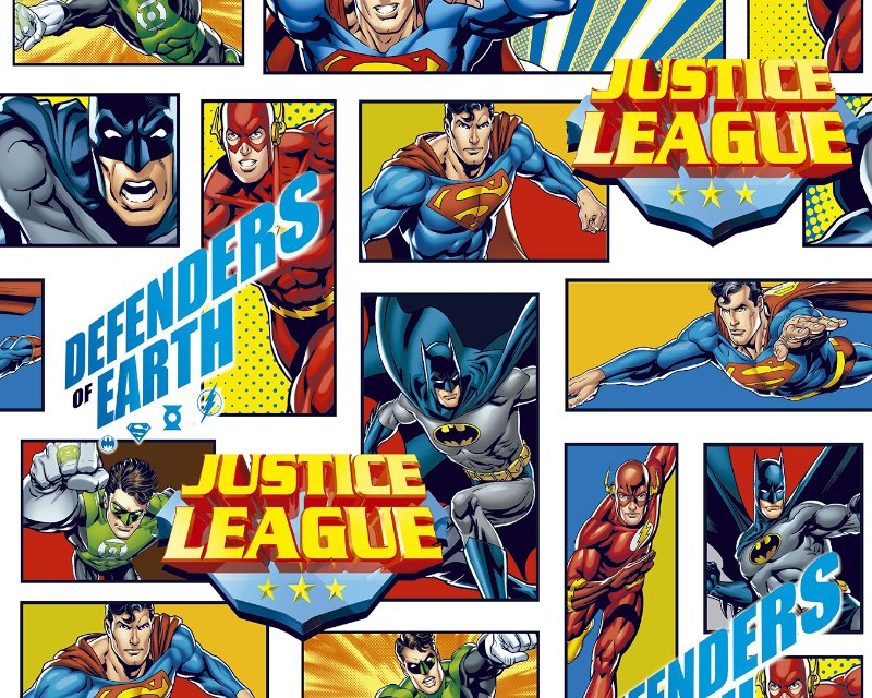 Little Johnny - Justice League Defenders of Earth Cotton