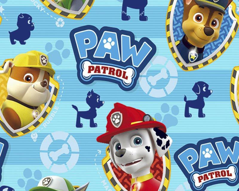 Little Johnny - Paw Patrol Boys Badges Cotton