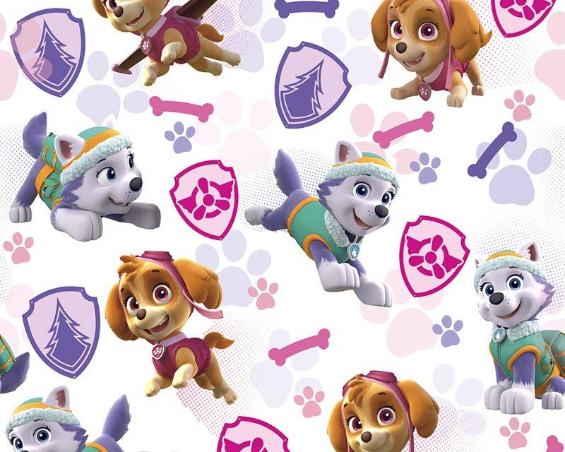 Little Johnny - Paw Patrol Girls Badges Cotton