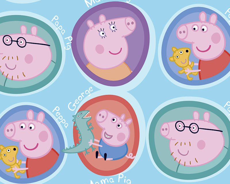 Little Johnny - Peppa Pig Family Cotton