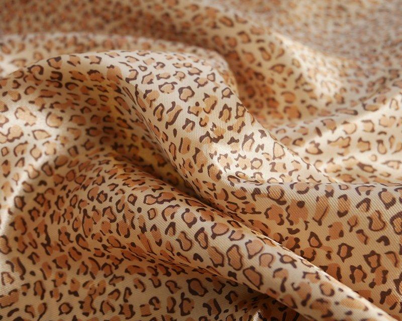Leopard Satin Print