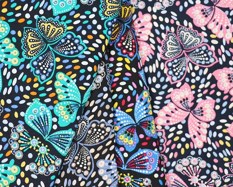 Butterfly Cotton Poplin