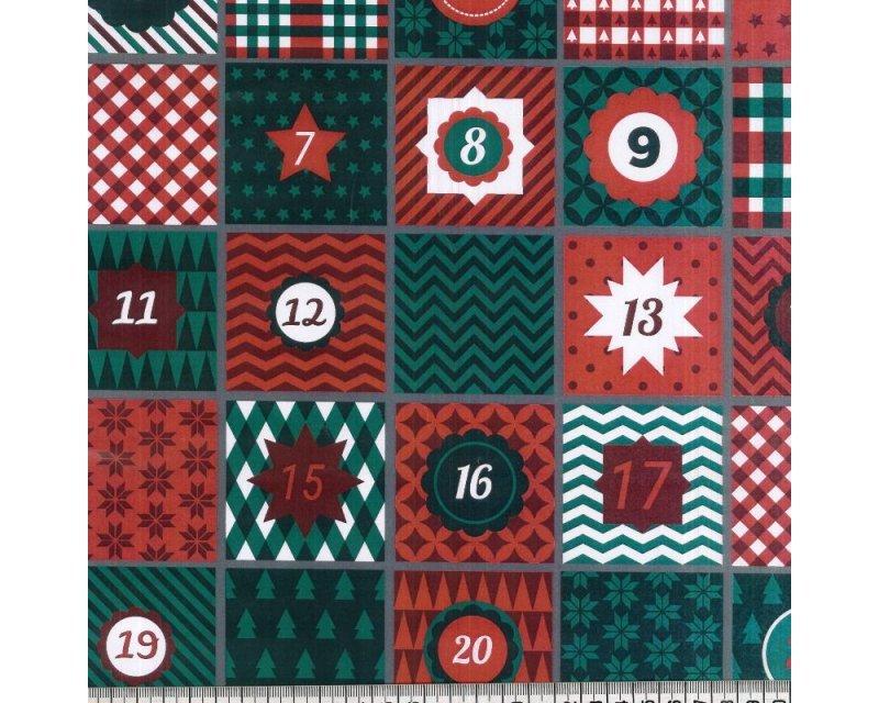 Christmas Calendar Cotton