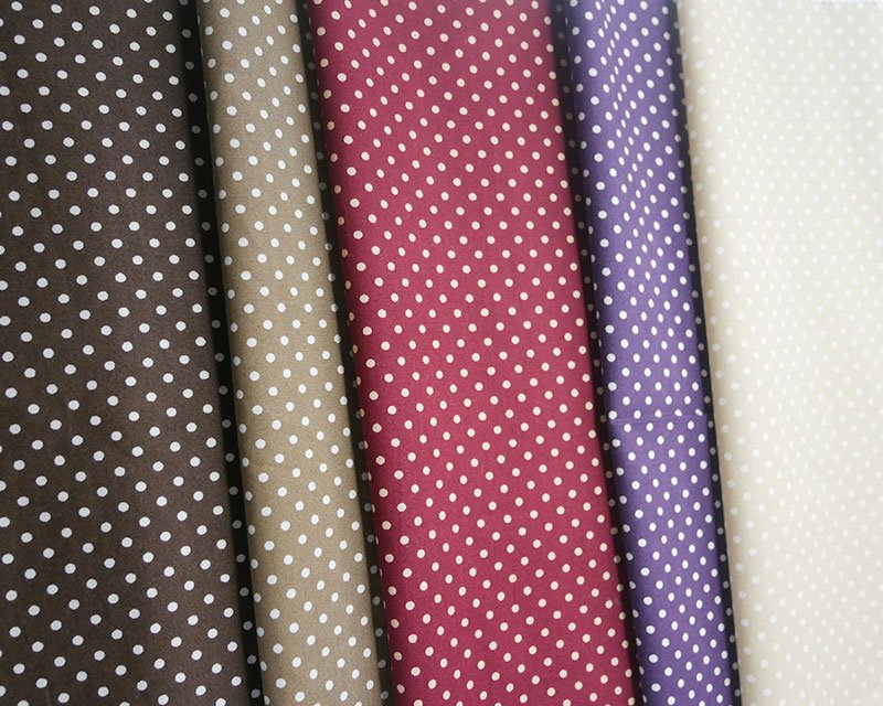 Pin Spot Cotton Poplin