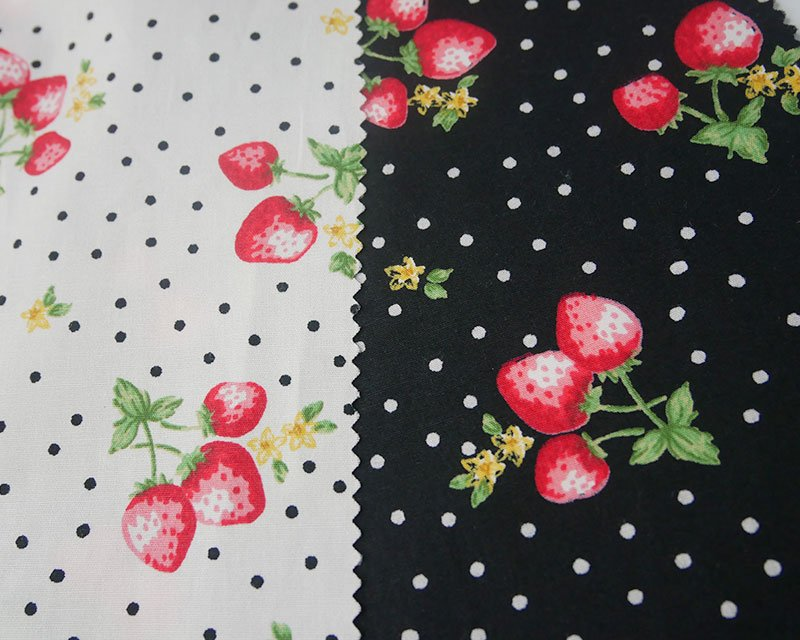 Spot Strawberry Cotton