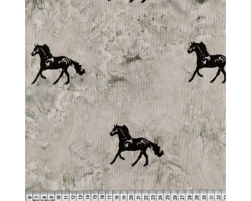 HORSE TIE DYE BATIQUE