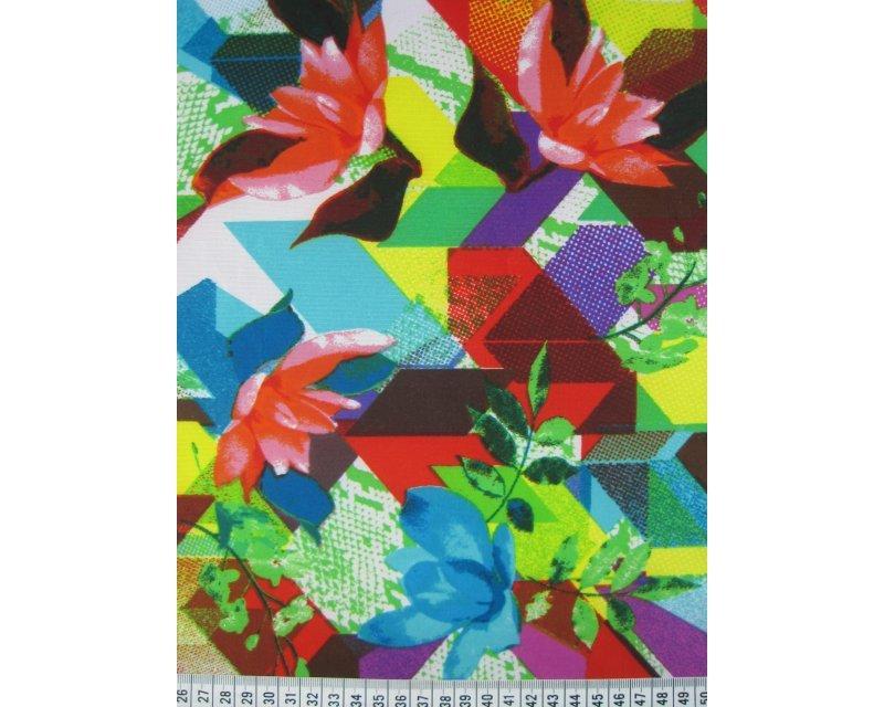 Printed Floral Scuba