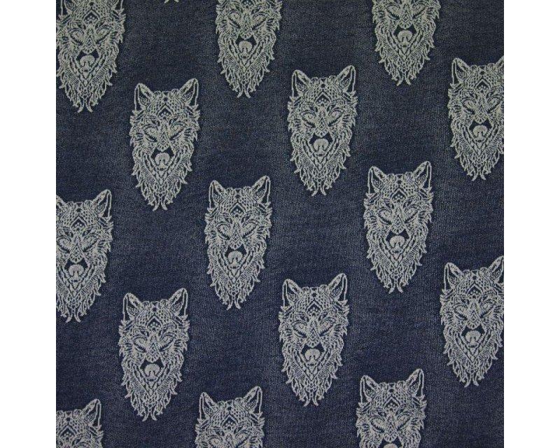 Wolf Knit Jersey