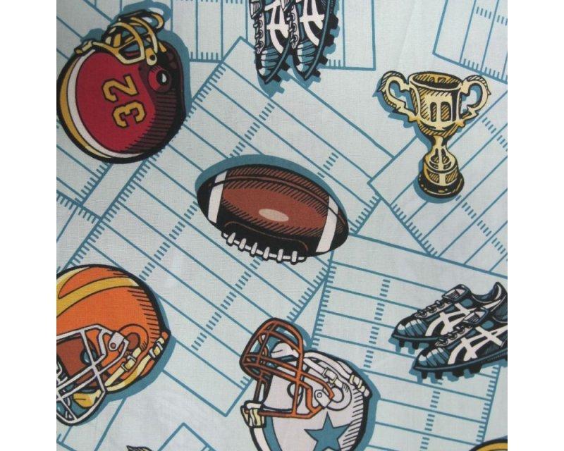 American Football Poplin