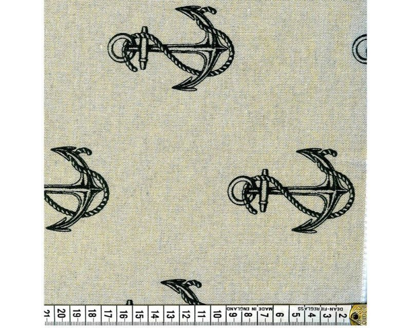 Anchors Polycotton Canvas