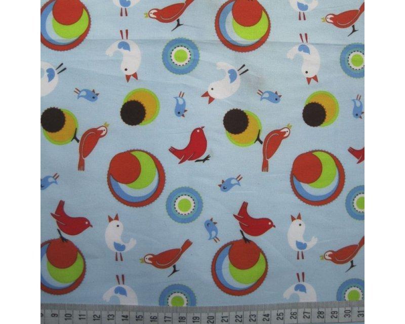 Birds Poplin