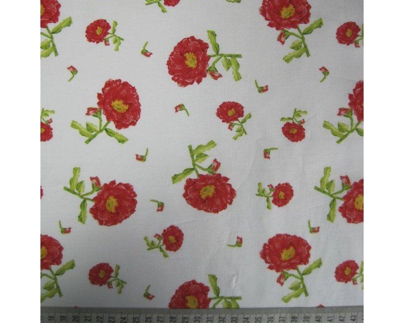 Carnation Flower Cotton