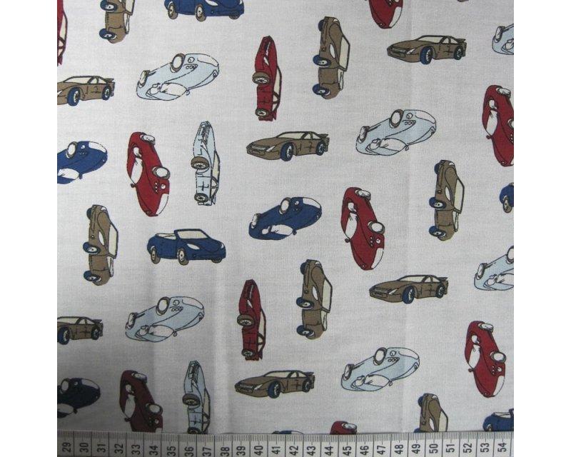 Cars Cotton Poplin