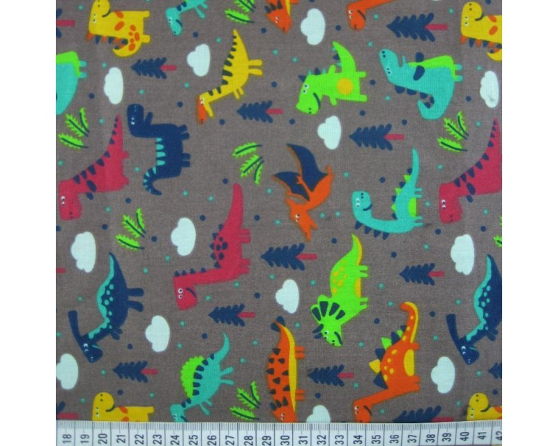 Dino Cotton Poplin