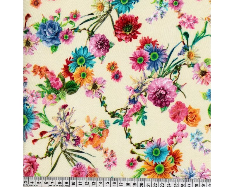 Floral Digital Viscose