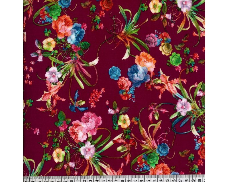 Floral Viscose