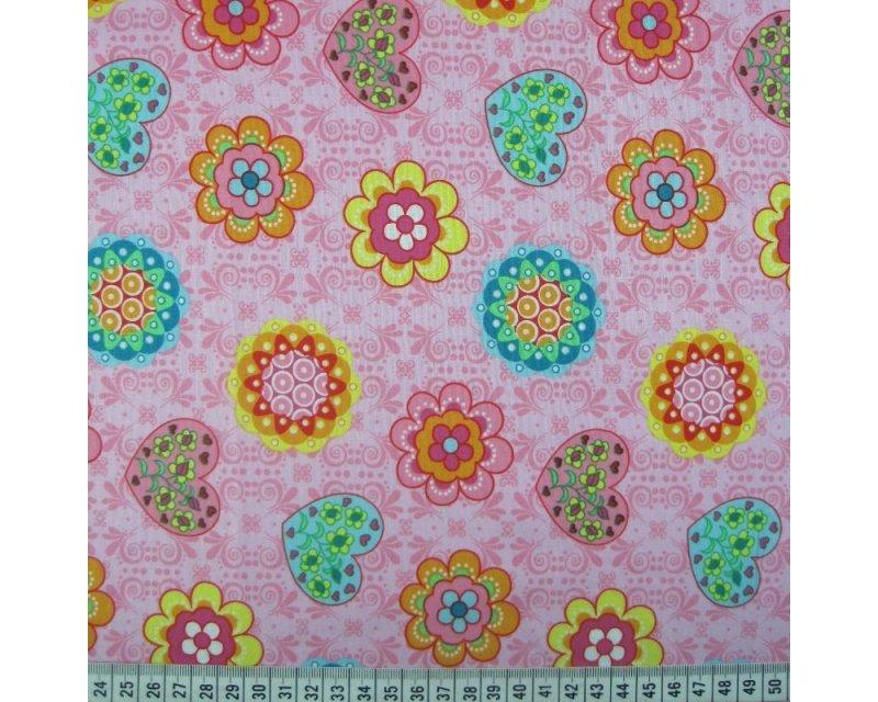 Flower Heart Cotton