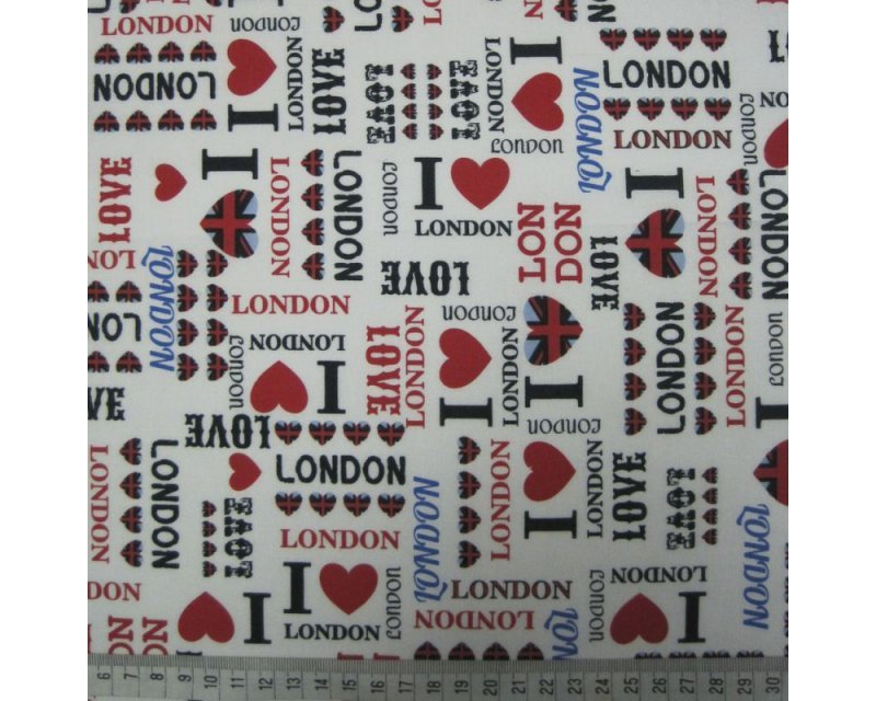 I Love London Cotton