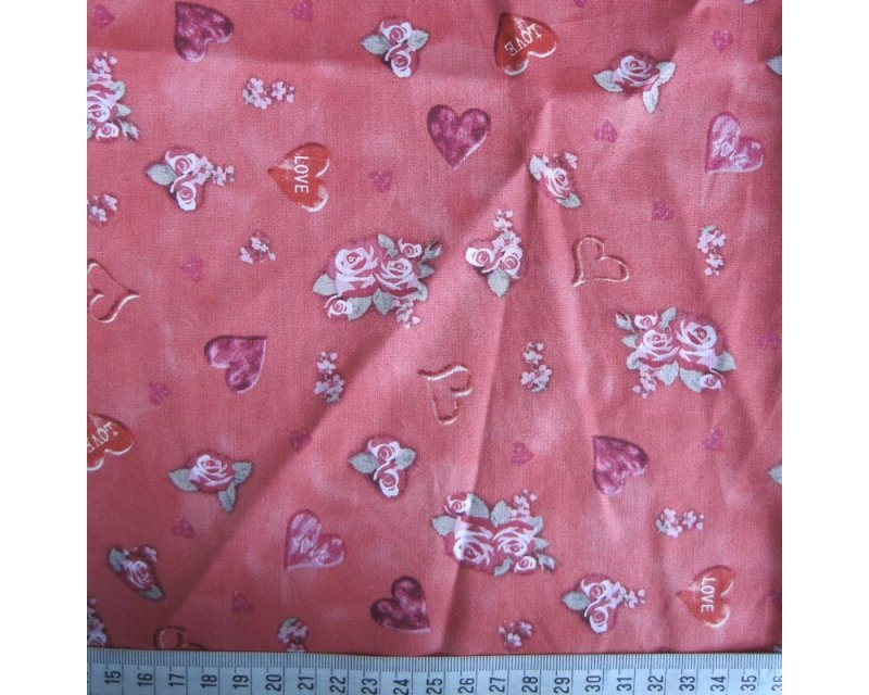 Love Heart Valentine Cotton