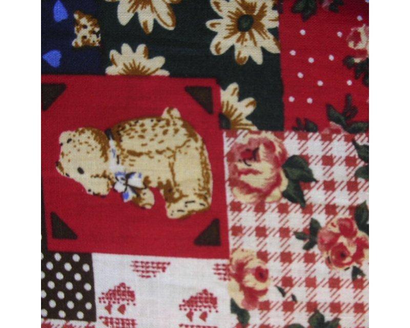 Mix & Match Teddy/Flower Cotton
