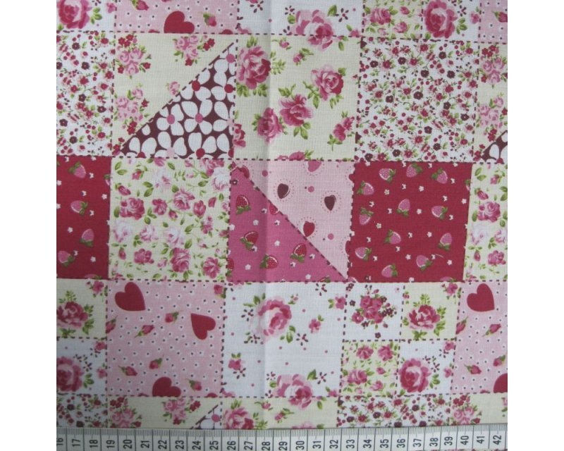 MP Square Patchwork Polycotton