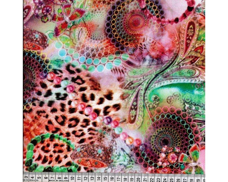 Printed Leopard Viscose