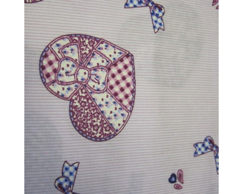 Patchwork Hearts Cotton