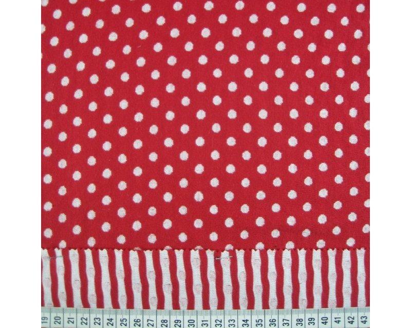 Reversible Spot Stripe Jersey