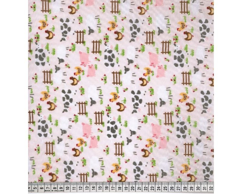 Sally Polycotton Farmyard