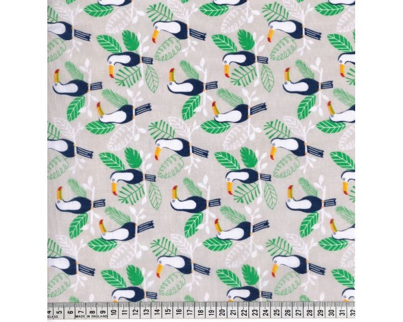 Sally Polycotton Toucan