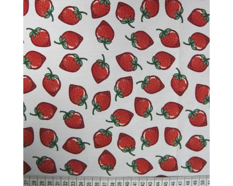 Strawberry Cotton Poplin