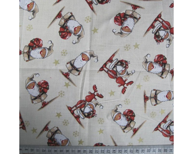 Xmas Gnome Cotton