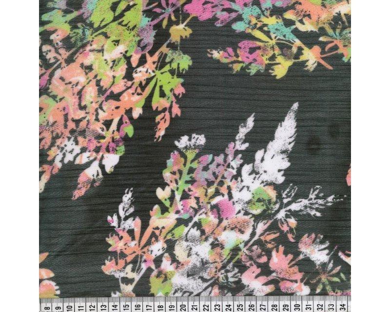 Yoryu Large Flower Chiffon