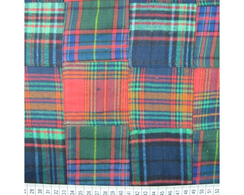 Brushed Patchwork Tartan