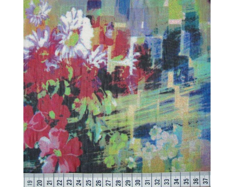 Floral Digital Jersey