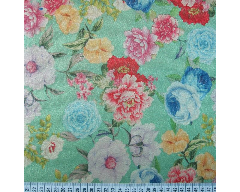 Flower Digital Lurex Lame