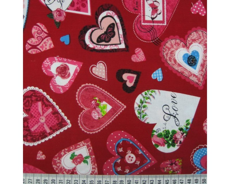 Love Hearts Corduroy