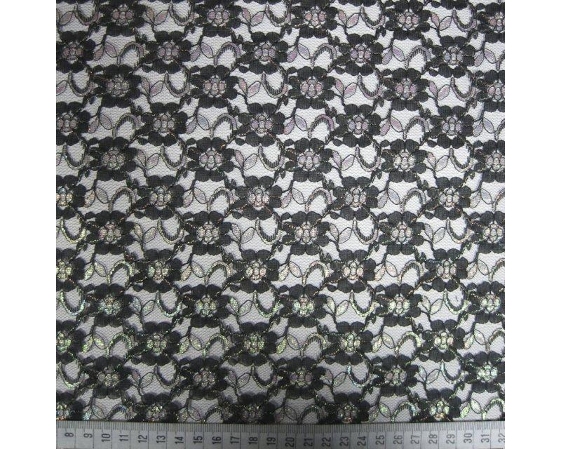 Iridescent Flower Lace