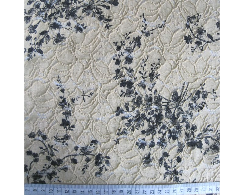 Stretch Floral Lace
